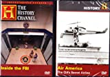The History Channel : Inside The FBI , Air America : The CIA's Secret Airline : Federal 2 Pack