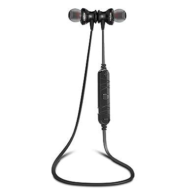 AWEI Auriculares inalámbricos con bluetooth V4 y sonido en HD, Auriculares estéreo ligeros con conexión