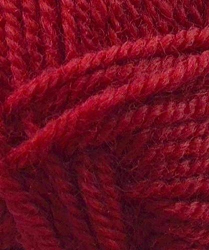Encore Worsted (Plymouth Encore Worsted 475 Stitch Red)
