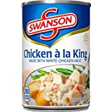 Swanson Chicken á la King Made with White Meat Chicken, 10.5 oz. Can (Pack of 12)