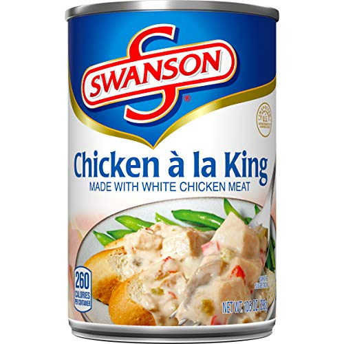 Swanson Chicken a la King, 10.5 Ounce (Pack of 12) (Packaging May Vary) ()