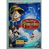 Pinocchio 70th Anniversary Platinum Edition [Blu-ray]