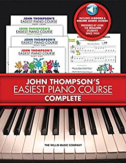 John Thompsons Easiest Piano Course - Complete [With 4 ...