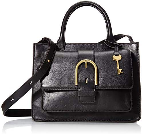 Fossil Women's Wiley Leather Satchel Purse Handbag
