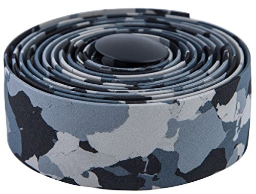 MARQUE Camouflage Road Bike Handlebar Tape - 2PCS per Set (Gray/Black)