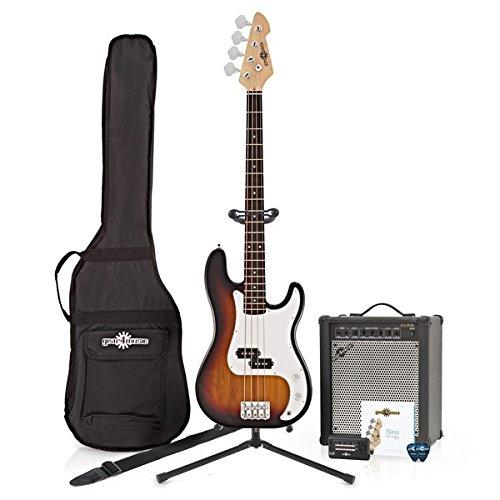 Pack de Bajo LA + Amplificador 35W Sunburst: Amazon.es: Instrumentos musicales