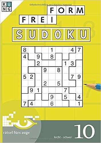 Freiform Sudoku 10 Freiform Sudoku Taschenbuch Amazonde Thomas