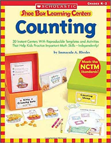 Amazon.com: Shoe Box Learning Centers: Counting: 30 Instant ...
