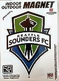 Seattle Sounders FC 5'' Vinyl Auto Home Magnet MLS Soccer Football Club