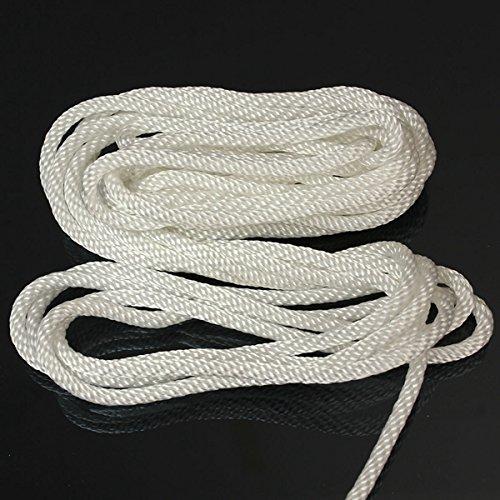 GOZAR 4Mmx5M Nylon Pull Starter Arranque Retroceso Cuerda Cable para La Mayor/ía De Cortac/ésped