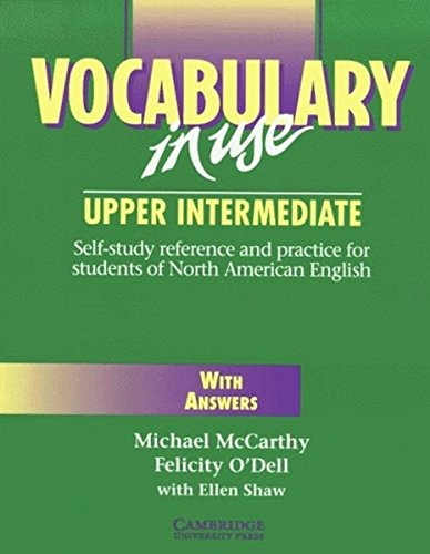 Vocabulary in Use - Upper intermediate, With Answers