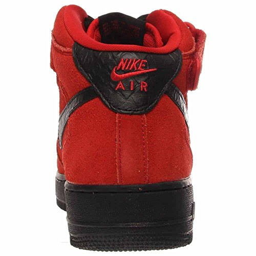 Nike Mens Air Force 1 Mid 07 Scarpa Da Basket Rossa