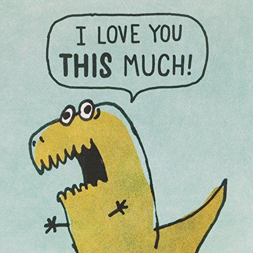 Hallmark Shoebox Funny Love Greeting Card (Dinosaur Arms) Photo #6