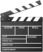 Neewer Acrylic Plastic 10x8/25x20cm Dry Erase Director's Film Clapboard Cut Action Scene Clapper Board Slate with Color...