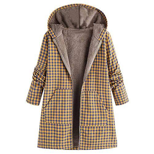 er Warm Outwear Floral Print Hooded Pockets Vintage Oversize Coats ()