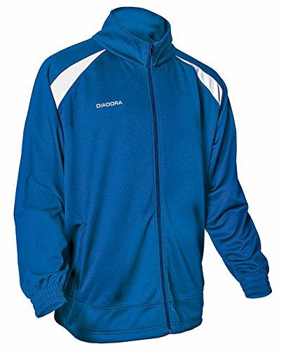 Diadora Men's Gioco Full-Zip Comfort Jacket M Blue
