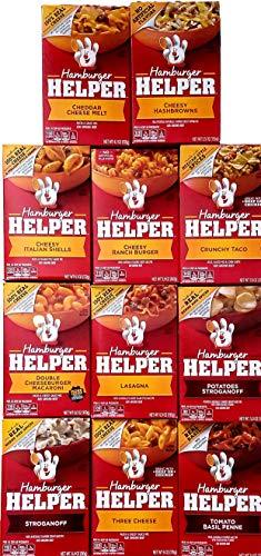 (Hamburger Helper Variety Bundle of 11)