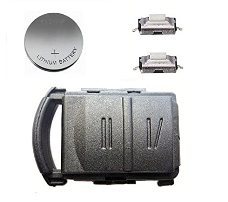 Automobile Locksmith AML2 Diy Repair Kit 2 Button Remote Key