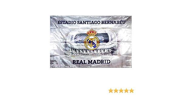 BANDERA REAL MADRID ESTADIO SANTIAGO BERNABEU 150x100 CM: Amazon.es: Electrónica