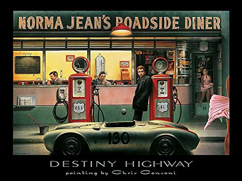 - Laminated Destiny Highway Art Poster Print by Chris Consani 14x11