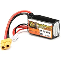 New ZOP Power 11.1V 500mAh 45C 3S Lipo Battery XT60 Plug By KTOY