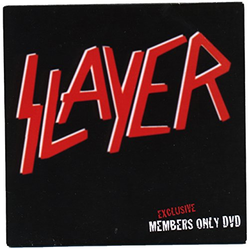 Slayer Exclusive Members Only DVD
