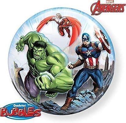 Qualatex los Vengadores 55.9 cm balón burbuja: Amazon.es: Hogar