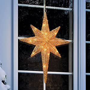 Amazon.com: Gold Star of Bethlehem - 2 Feet Tall: Home ...