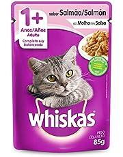 Ração Úmida Whiskas Sachê para Gatos Adultos 85 g,