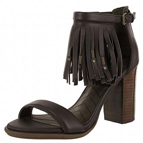 MIA Women's Cristi Cristi Cristi Leather Fringe Platform Sandal B01CUSGOOU Shoes ed5a84