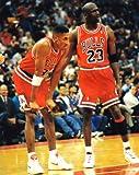 Michael Jordon - Scottie Pippen Chicago Bulls 8x10 Photo - Mint Condition