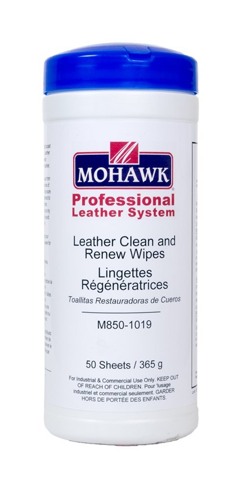 Mohawk Finishing Products Leather Clean and Renew Wipes (40 Count) by Mohawk Finishing Products