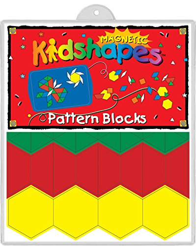 Barker Creek - Office Products Learning Magnets, Pattern Blocks (LM-2300)
