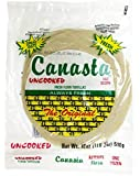 Canasta Uncooked Fresh Flour Tortillas with Lard (Green Label) - 12 ct