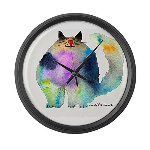 CafePress The Bouncer Large 17 Round Wall Clock, Unique Decorative Clock