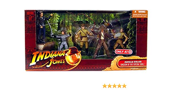 Indiana Jones Movie Deluxe Exclusive Action Figure 5-Pack Jungle Chase by Hasbro: Amazon.es: Juguetes y juegos