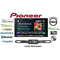 Pioneer AVH-4200NEX Double Din Flagship Multimedia DVD Receiver with 7 WVGA Touchscreen w/ Backup Camera and FREE SOTS Air Freshener