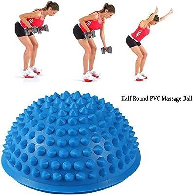 Amazon.com: 2 Pcs Yoga mitad Bola físico appliance de ...