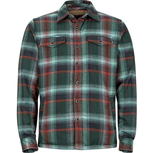 Marmot Long Sleeve Pullover - Marmot Men's Ridgefield Long Sleeve Mallard Green X-Large