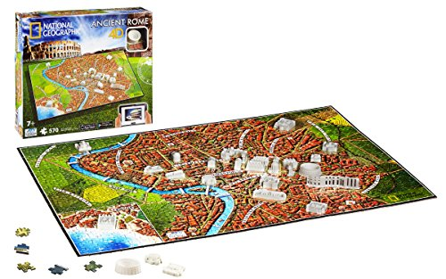 4D Cityscape Inc 4D National Geographic Ancient Rome Puzzle Puzzle from 4D Cityscape