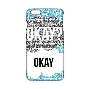 Fortune Creative design Okay letter 3D Phone Case for iPhone 6 plus