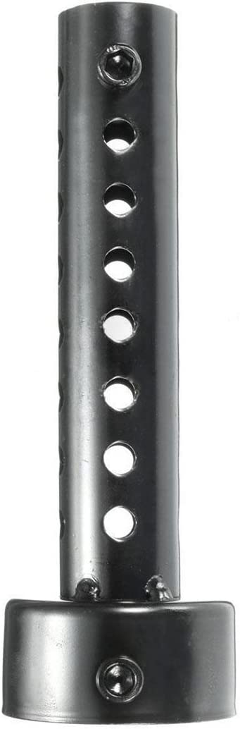 Beauneo Universal Pot D/éChappement Moto Peut Silencieux Baffle DB Killer Silencer 48mm Noir