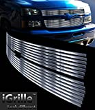 05 2500hd grill - Stainless Steel eGrille Billet Grille Grill For 06-07 Chevy Silverado 1500/ 05-06 2500HD