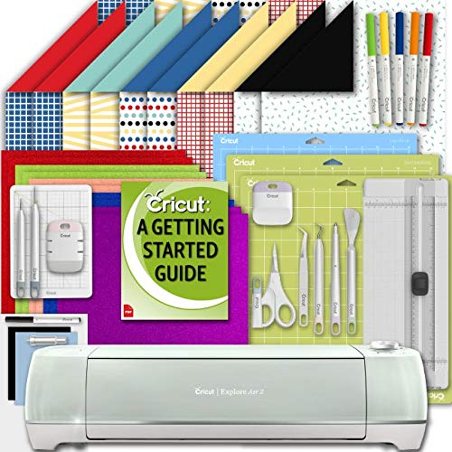 Cricut Explore Air 2 Machine Beginner Set: