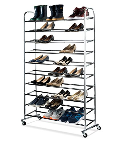 50 pair shoe rack - 9