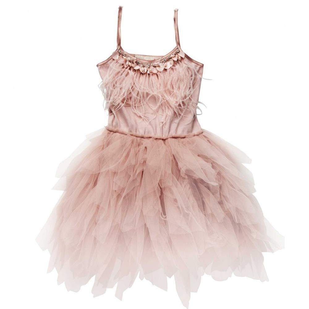 rose 100cm YONGMEI Sweat Ballet Show Girl de la Petite Fille, 4 Couleurs (Couleur   Blanc, Taille   100cm)