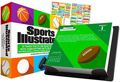 Sports Illustrated Sports 2021 Calendar, Box Edition Bundle
