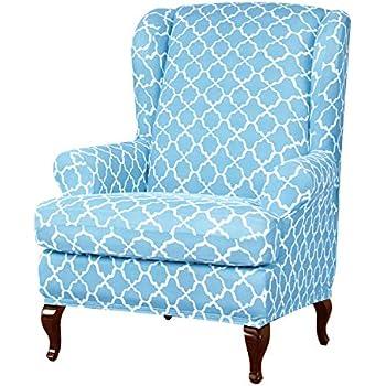 Amazon.com: Funda para sillón de Ala de Subrtex, funda para ...