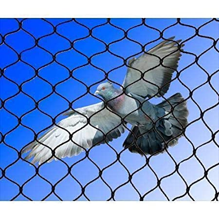 AMZ Pigeon Net for Balcony (Protection net) (Pigeon)(Monkey) Blue (10FTx40FT)