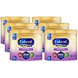 Enfamil NeuroPro Gentlease Infant Formula - Clinically Proven to reduce fussiness, gas, crying in 24 hours - Brain Building Nutrition Inspired by breast milk - Reusable Powder Tub, 20 oz (Pack of 6)